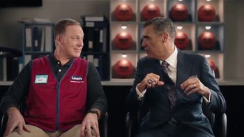 Lowe's TV Spot, 'Do It Wright Playbook: Craftsman Gas Mower' Featuring Jay Wright