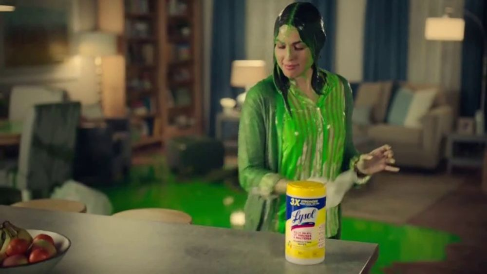 Lysol Disinfecting Wipes TV Commercial, 'Nickelodeon Kids' Choice Awards Party'