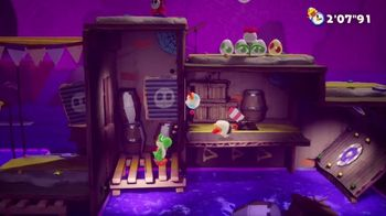 Yoshi's Crafted World TV Spot, 'Flip Into a New Adventure' - Thumbnail 7