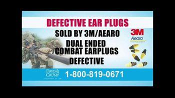 Davis & Crump, P.C. TV Spot, 'Military Tinnitus' - Thumbnail 2