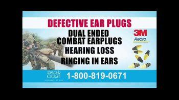 Davis & Crump, P.C. TV Spot, 'Military Tinnitus' - Thumbnail 4