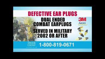 Davis & Crump, P.C. TV Spot, 'Military Tinnitus' - Thumbnail 5