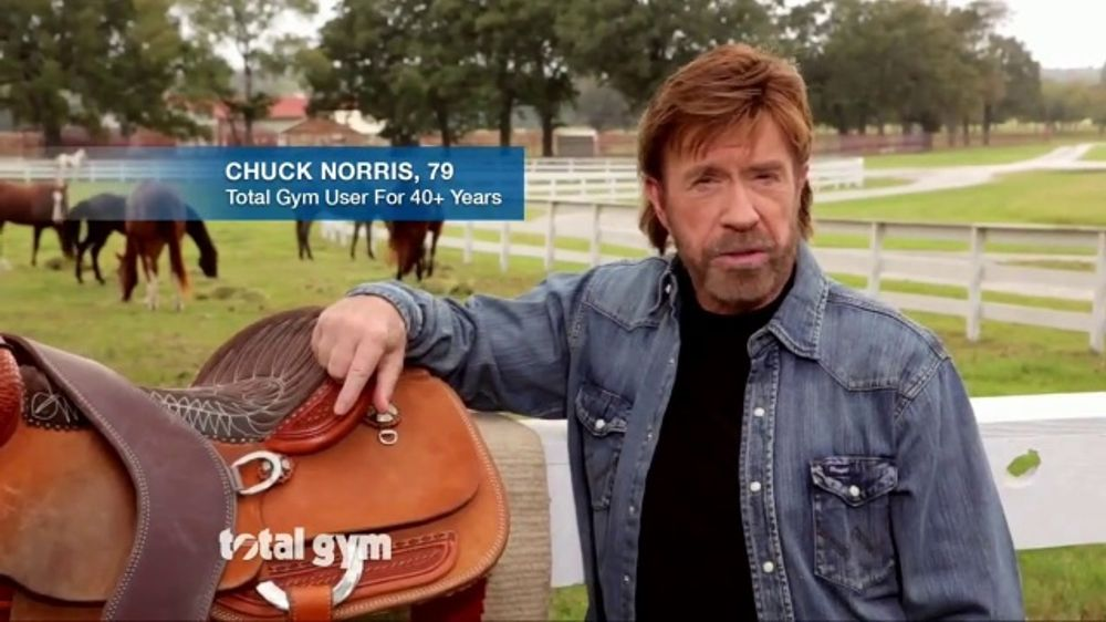Christie Brinkley Commercial >> Total Gym Tv Commercial Get Results Featuring Chuck Norris