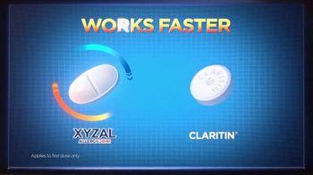 XYZAL Allergy 24HR TV Spot, 'How Does XYZAL Compare?' - Thumbnail 6