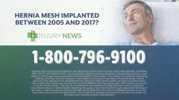 Injury News TV Spot, 'Hernia Mesh Implant' - Thumbnail 6