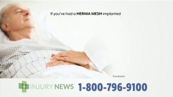 Injury News TV Spot, 'Hernia Mesh Implant' - Thumbnail 3