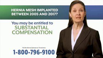 Injury News TV Spot, 'Hernia Mesh Implant' - Thumbnail 5