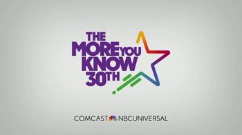 The More You Know TV Spot, '30th Anniversary: Anthem' Feat. Al Roker, Chuck Todd & Sasha Banks - Thumbnail 10