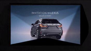 Invitation to Lexus Sales Event TV Spot, 'Unforgettable' [T2] - Thumbnail 7