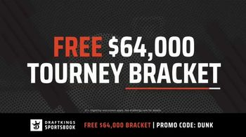 DraftKings Sportsbook TV Spot, 'March Madness: Tourney Bracket' - Thumbnail 3