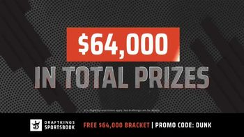 DraftKings Sportsbook TV Spot, 'March Madness: Tourney Bracket' - Thumbnail 5