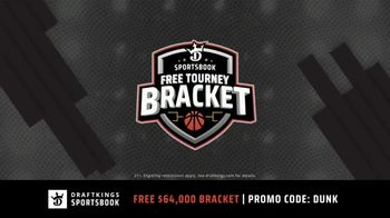 DraftKings Sportsbook TV Spot, \'2019 March Madness: Tourney Bracket\'