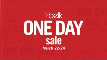 Belk One Day Sale TV Spot, '3-Day Doorbusters: Clothing'