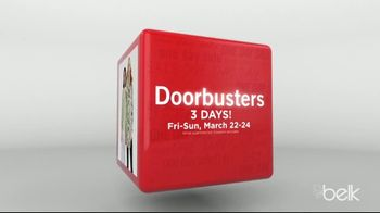 Belk One Day Sale TV Spot, '3-Day Doorbusters: Clothing' - Thumbnail 3