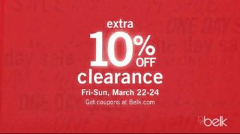 Belk One Day Sale TV Spot, '3-Day Doorbusters: Clothing' - Thumbnail 8