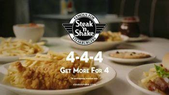 Steak 'n Shake 4-4-4 TV Spot, 'Double 'n Cheese Steakburger' - Thumbnail 10