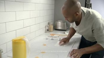 Mr. Clean Magic Eraser Sheets TV Spot, 'Struggling With Wipes' - Thumbnail 1