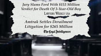 Kline & Specter TV Spot, 'Most Big Injury Verdicts and Settlements' - Thumbnail 2