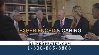 Kline & Specter TV Spot, 'Most Big Injury Verdicts and Settlements' - Thumbnail 6