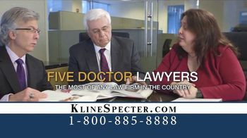 Kline & Specter TV Spot, 'Most Big Injury Verdicts and Settlements' - Thumbnail 8