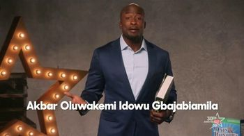 The More You Know TV Spot, 'Reading' Featuring Akbar Gbaja-Biamila