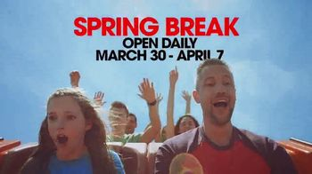 Six Flags Season Pass Sale TV Spot, '2019 Spring Break: White Water Pass' - Thumbnail 3