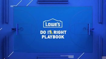 Lowe's Spring Black Friday Sale TV Spot, 'Do It Wright Playbook: Trimmer' Featuring Jay Wright - Thumbnail 2