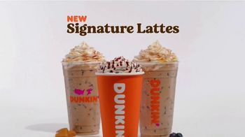 Dunkin' Donuts Signature Lattes TV Spot, 'Work of Art' - Thumbnail 8