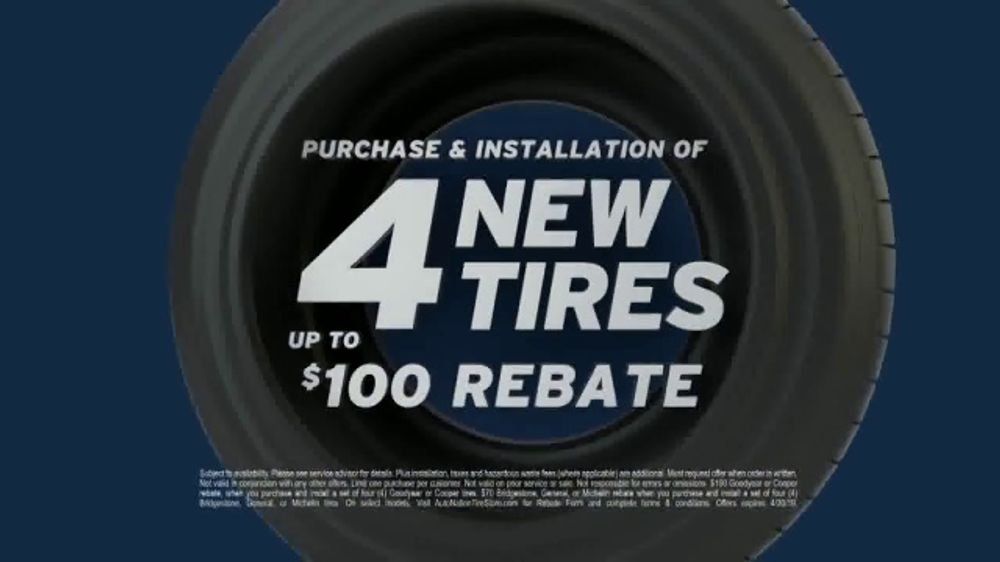 Tires For Less >> Autonation Tv Commercial Drive Safe For Less Tire Rebate And No Interest Financing Video