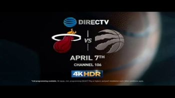 DIRECTV 4K HDR TV Spot, 'NBA in 4K HDR' - Thumbnail 9
