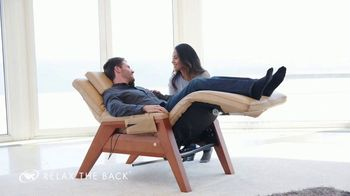 Relax the Back TV Spot, 'Zero Gravity Recliners: $400'