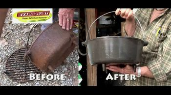 Evapo-Rust TV Spot, 'What's Cast Iron Cooking Promo' - Thumbnail 6