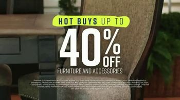 Ashley HomeStore Spring Home Event TV Spot, 'Outdoor Furniture' Song by Midnight Riot - Thumbnail 4