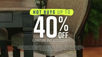 Ashley HomeStore Spring Home Event TV Spot, 'Outdoor Furniture' Song by Midnight Riot - Thumbnail 5