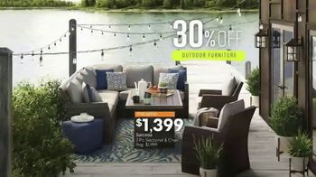 Ashley HomeStore Spring Home Event TV Spot, 'Outdoor Furniture' Song by Midnight Riot - Thumbnail 7
