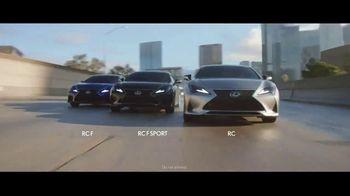Lexus RC TV Spot, 'Fast' [T1] - Thumbnail 7