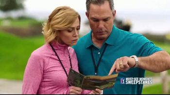 PGA TOUR Must-See Moments Sweepstakes TV Spot, 'Inside the Ropes' - 138 commercial airings