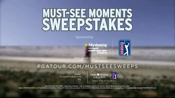 PGA TOUR Must-See Moments Sweepstakes TV Spot, 'Inside the Ropes' - Thumbnail 10