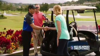 PGA TOUR Must-See Moments Sweepstakes TV Spot, 'Inside the Ropes' - Thumbnail 3