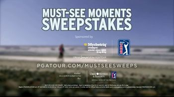 PGA TOUR Must-See Moments Sweepstakes TV Spot, 'Inside the Ropes' - Thumbnail 9