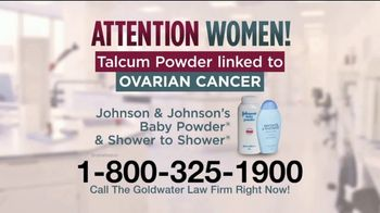 Goldwater Law Firm TV Spot, 'Talcum Powder: Over Four Billion' - Thumbnail 2