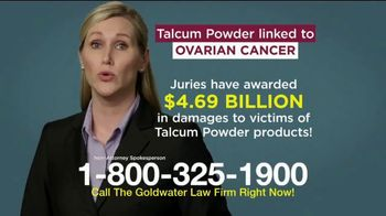 Goldwater Law Firm TV Spot, 'Talcum Powder: Over Four Billion' - Thumbnail 5