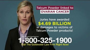 Goldwater Law Firm TV Spot, 'Talcum Powder: Over Four Billion' - Thumbnail 7