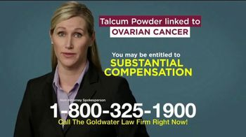 Goldwater Law Firm TV Spot, 'Talcum Powder: Over Four Billion' - Thumbnail 8