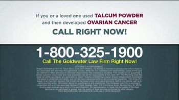 Goldwater Law Firm TV Spot, 'Talcum Powder: Over Four Billion' - Thumbnail 9