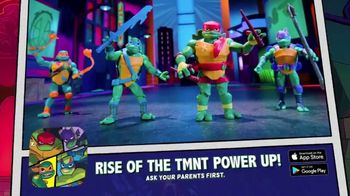 Rise of the Teenage Mutant Ninja Turtle TV Spot, 'Sewer Lair: Power Up! App'