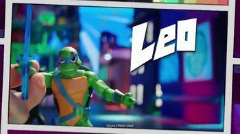 Rise of the Teenage Mutant Ninja Turtle TV Spot, 'Sewer Lair: Power Up! App' - Thumbnail 3
