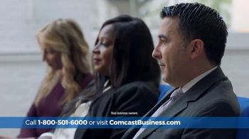 Comcast Business Switch & Save Days TV Spot, 'Excited Business Owners: $500 Prepaid Card'