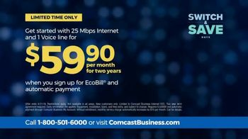 Comcast Business Switch & Save Days TV Spot, 'Excited Business Owners: $500 Prepaid Card' - Thumbnail 5
