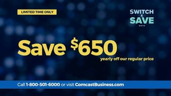 Comcast Business Switch & Save Days TV Spot, 'Excited Business Owners: $500 Prepaid Card' - Thumbnail 6